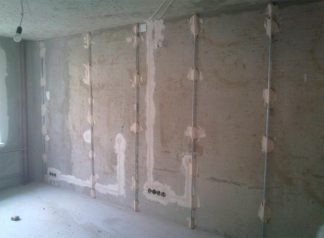 Выравниваем углы стен в квартире