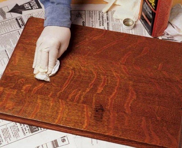Как избежать ошибок при лакировке мебели