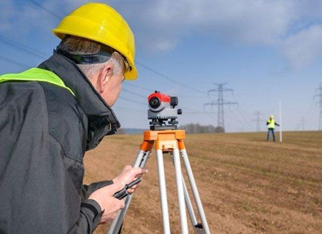 Топографические работы на земельном участке