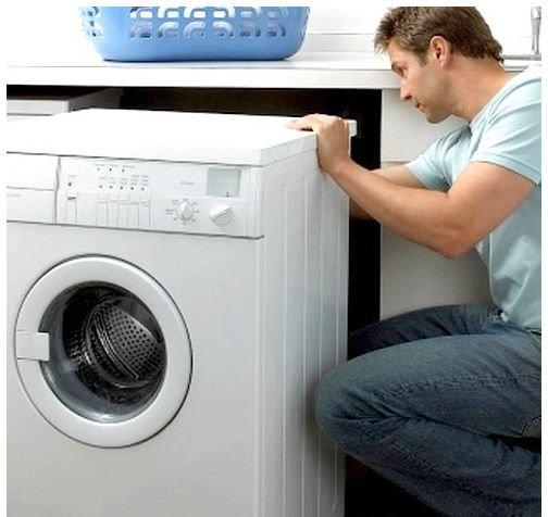 Установка стиральной машины своими силами
