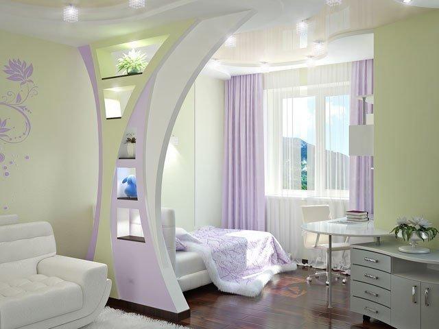 Роль мебели в зонировании небольших квартир