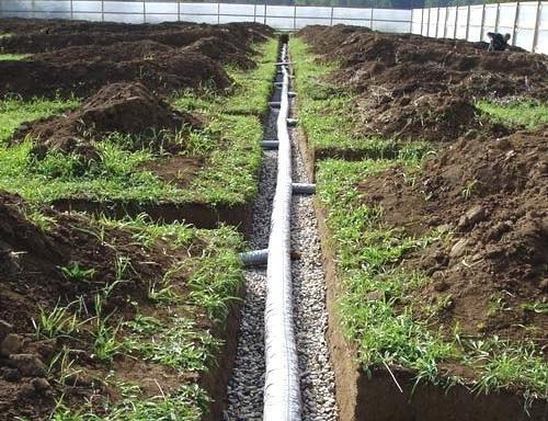 Как избежать грунтовых вод на приусадебном участке