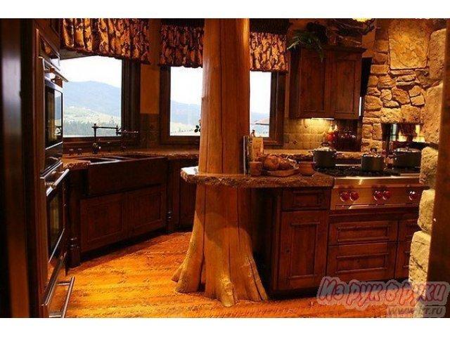 Кухонное помещение в стиле рустик