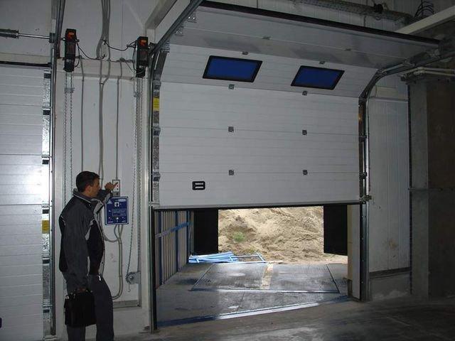 Установка автоматических ворот для гаража своими руками