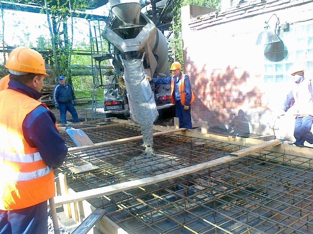 Особенности укладки бетонной смеси