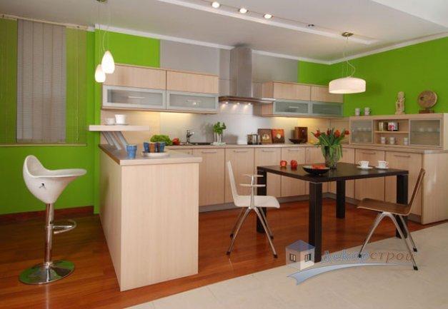 Обустройство рабочей зоны кухонного помещения