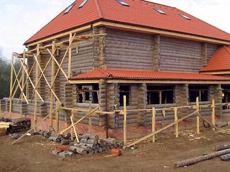 Особенности реконструкции старого дома