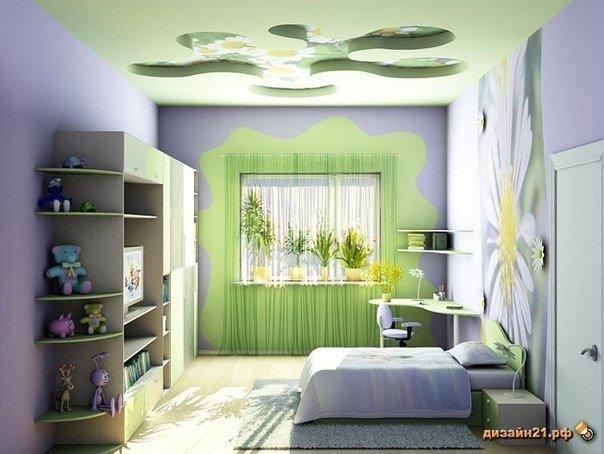 Выбор стиля интерьера для помещения детской