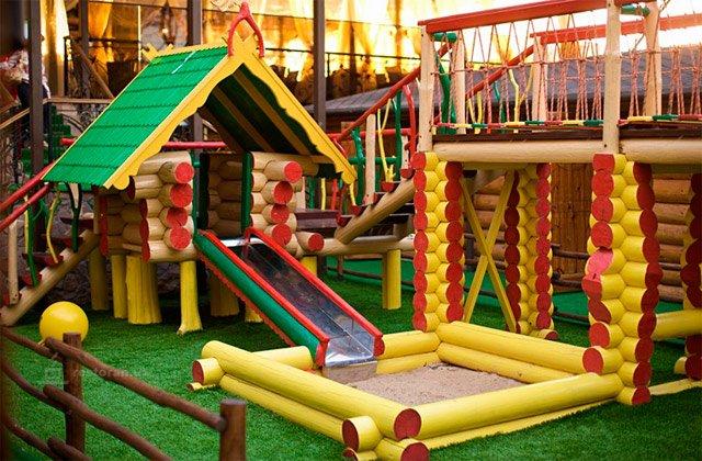 Детская площадка на приусадебном участке