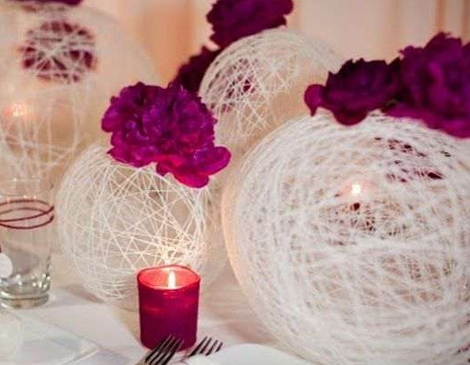 Свадебный интерьер своими руками