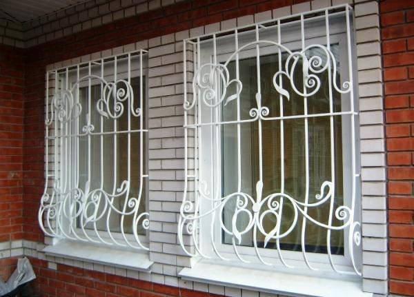 Разновидности и конструкции решеток на окна