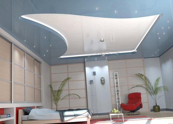 Как грамотно выполнить двухуровневый потолок