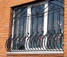 Как сделать решетку на окно своими руками