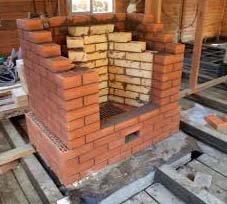 Как построить камин