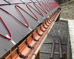 Обогрев крыши и водосточной системы