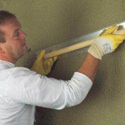 Штукартурка стен цементно-песчаным раствором