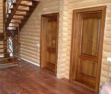 Как установить деревянную межкомнатную дверь