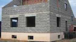Строительство дома с использованием керамзитобетонных блоков