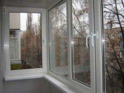 Самостоятельное остекление балкона ПВХ окнами