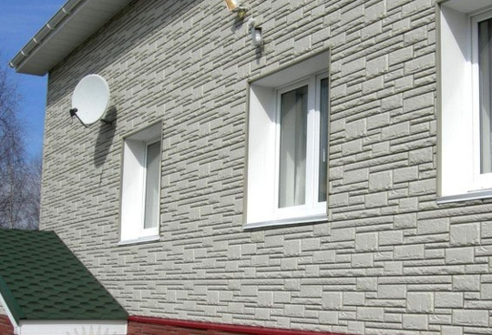 Разновидности отделки фасадов зданий