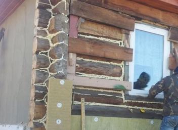 Варианты облицовки фасада деревянного дома