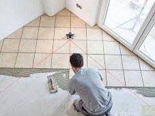 Как отделать пол керамической плиткой