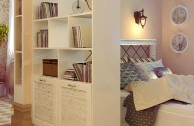Идеальная идея для дизайна однокомнатной квартиры
