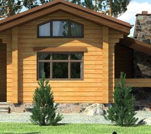 Жилые дома из дерева