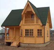 Строительство дома с использованием древесины