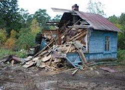 Как грамотно демонтировать дом