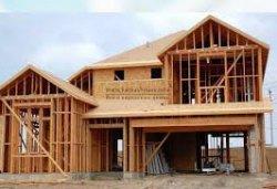 Строительство большого каркасного дома
