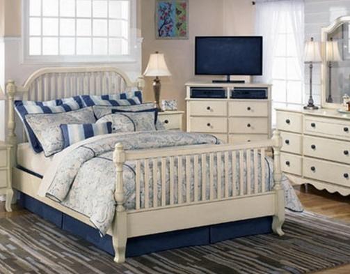 Элементы стиля в спальных комнатах