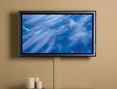 Как спрятать провода от телевизора?