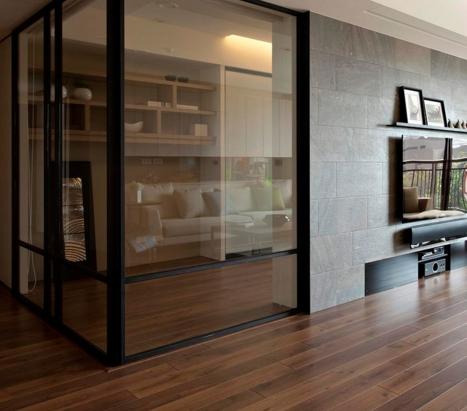 Роль стеклянных перегородок в дизайне интерьера