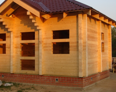 Экологичные дома из профилированного бруса
