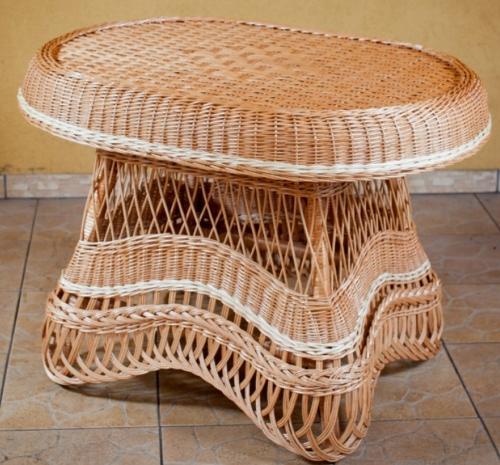 Изысканная элегантность плетеной мебели из лозы