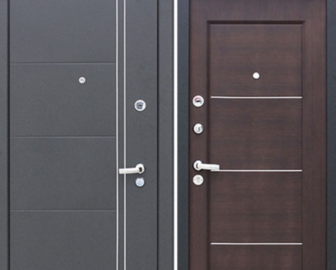 Выбираем входные двери из стали