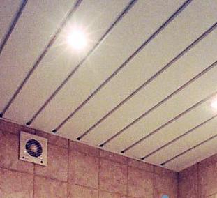Как выбрать реечные потолки