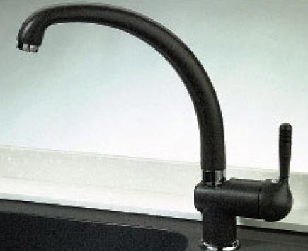 Кухонный смеситель с поворотным изливом, однорычажный Evromix