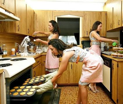 Кухня: пространство для женщины