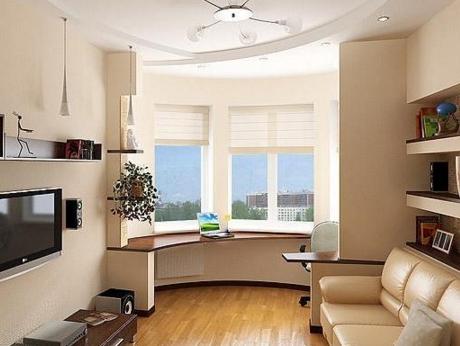 Разработка дизайна жилой комнаты