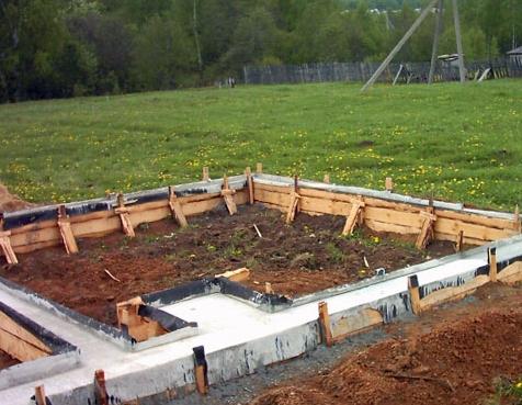 Фундамент для глинистой почвы