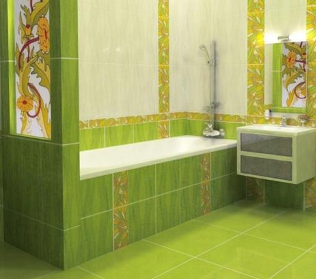 Правила выбора керамической плитки для ванной комнаты