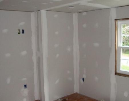 Выравнивание стен с использованием гипсокартона