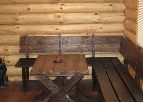 Сауны из массива древесины
