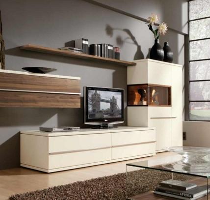 Современный интерьер в гостиной