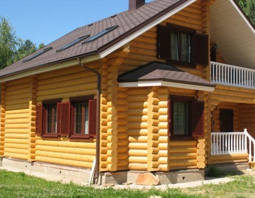 Строительство под ключ бревенчатого дома
