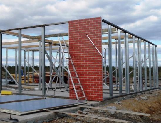 Металлокаркасное строительство домов