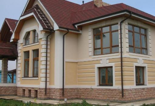 Варианты ремонта фасада