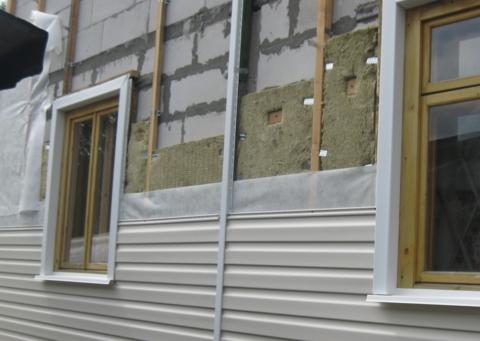 Как облицевать фасад дома сайдингом?
